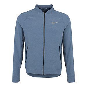 Nike Tech Woven Trainingsjacke Herren blau / silber
