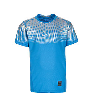 Nike Pro Hypercool Max Elite Funktionsshirt Jungen hellblau / silber