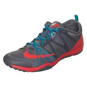 Nike Free Cross Complete Fitnessschuhe Damen grau / rot / blau