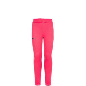 Under Armour AllSeasonGear Favorite Tights Mädchen pink / schwarz