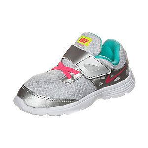 Nike Fusion Lite Fitnessschuhe Mädchen silber / pink / grün