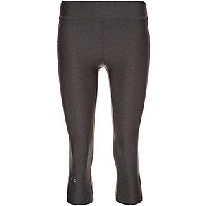 Under Armour HeatGear Armour Capri Tights Damen grau / silber
