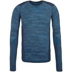 Odlo Crew Neck Blackcomb Funktionsshirt Herren dunkelblau / blau