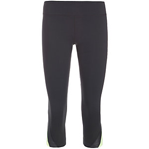 Under Armour AllSeasonGear Take A Chance Capri Tights Damen schwarz / gelb