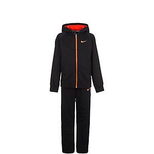 Nike Trainingsanzug Kinder schwarz / orange