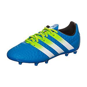 adidas ACE 16.3 Fußballschuhe Kinder blau / lime / weiß