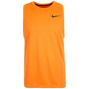 Nike Dri-FIT Cool Funktionstank Herren orange / schwarz