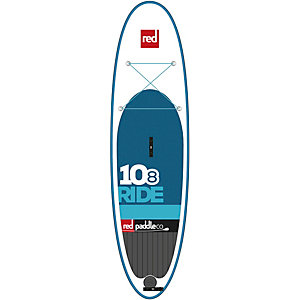 "Red Paddle 10'8"" Ride SUP Board weiß/blau"