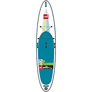 "Red Paddle 12'6"" Explorer SUP Board weiß"