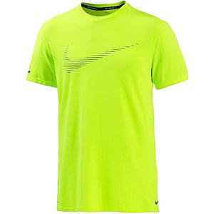 Nike Dri-Fit Contour Funktionsshirt Herren gelb