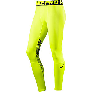 Nike PRO HYPERCOOL Tights Herren gelb