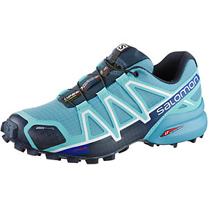 Salomon SPEEDCROSS 4 CS Laufschuhe Damen hellblau