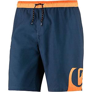 Quiksilver Side Swipe Badeshorts Herren dunkelblau/orange