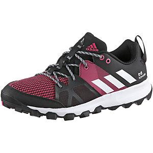 adidas Kanadia 8 Laufschuhe Damen schwarz/rot
