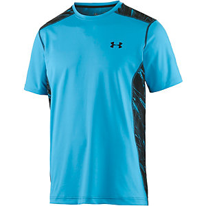 Under Armour HeatGear Raid Funktionsshirt Herren hellblau