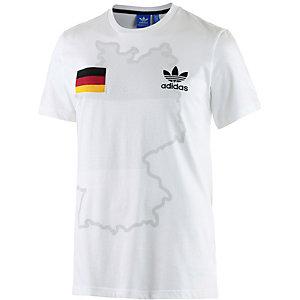 adidas EM 2016 Printshirt Herren weiß