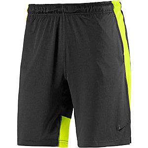 Nike Fly Funktionsshorts Herren schwarz/gelb