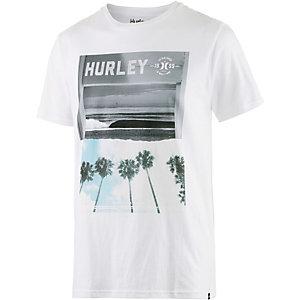 Hurley Depature Printshirt Herren weiß