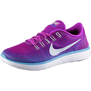 Nike Free RN Distance Laufschuhe Damen lila/blau