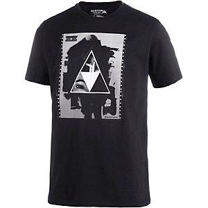 Burton Stockman Printshirt Herren schwarz