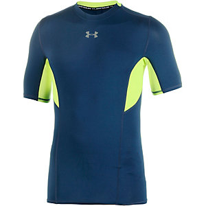 Under Armour HeatGear Coolswitch Kompressionsshirt Herren schwarzblau