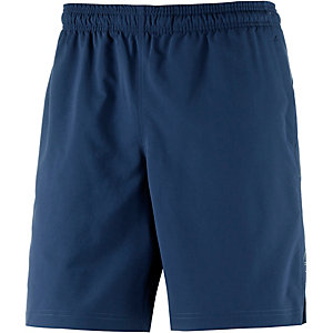 Under Armour HeatGear Hitt Funktionsshorts Herren blau/gelb