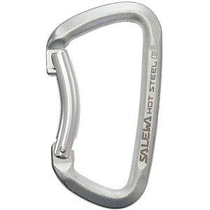 SALEWA Hot Bent Karabiner silberfarben