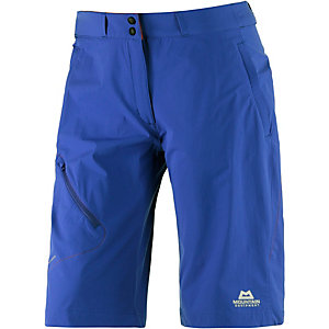 Mountain Equipment Comici Funktionsshorts Damen blau