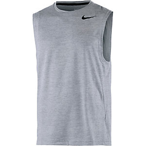 Nike Dri-Fit Funktionstank Herren grau
