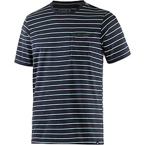Hurley Edwards T-Shirt Herren navy/weiß