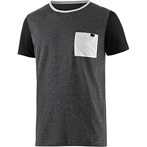 Hurley Rigged T-Shirt Herren grau/schwarz