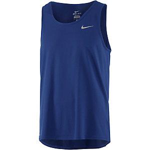 Nike Dri-Fit Contour Funktionstank Herren dunkelblau