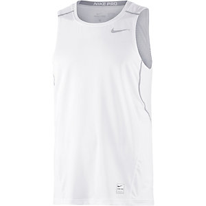 Nike Pro Funktionstank Herren weiß