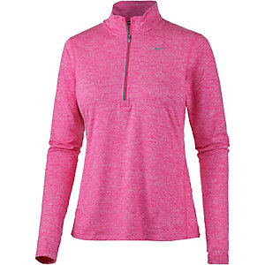 Nike Element Laufshirt Damen pink