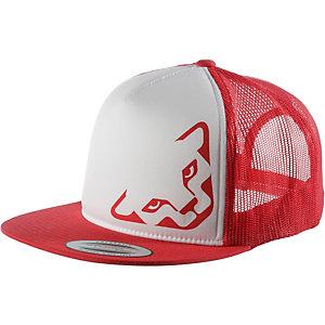 Dynafit Trucker Cap rot/weiß