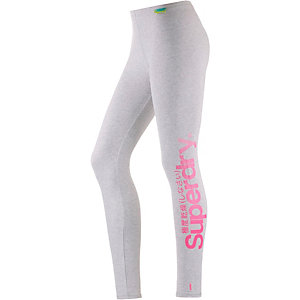 Superdry Leggings Damen grau