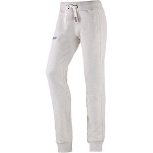 Superdry Sweathose Damen hellgrau