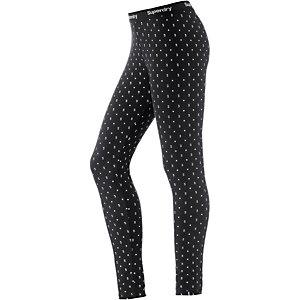 Superdry Leggings Damen schwarz/weiß