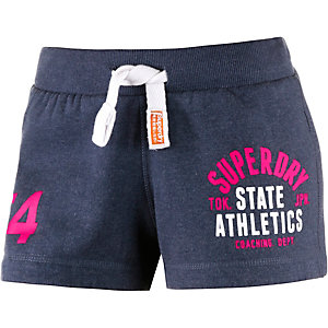 Superdry Shorts Damen navy