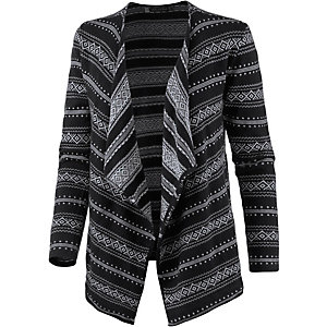 Volcom Disclosed Strickjacke Damen schwarz/grau