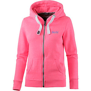 Superdry Sweatjacke Damen rosa
