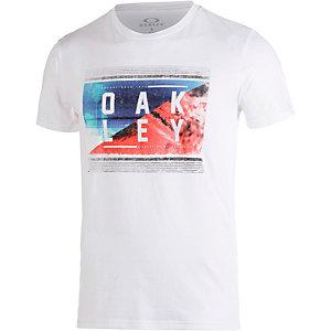 Oakley Yewwtee Printshirt Herren weiß
