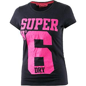 Superdry Printshirt Damen navy