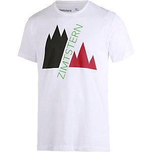 Zimtstern TSM Double Up Printshirt Herren weiß