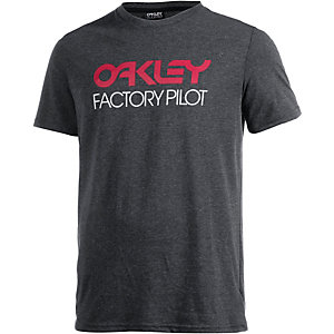 Oakley Basic Graphic Printshirt Herren anthrazit
