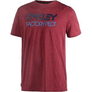 Oakley Basic Graphic Printshirt Herren rot