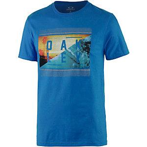 Oakley Yewwtee Printshirt Herren blau