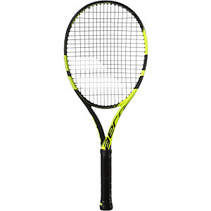 Babolat Pure Aero Strung Tennisschläger schwarz/gelb