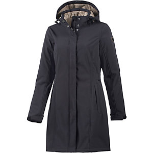 KILLTEC Mellia Softshellmantel Damen nachtblau