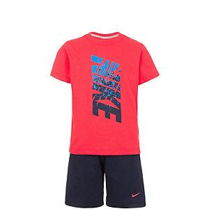 Nike Trainingsanzug Jungen rot / dunkelblau